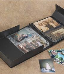 Caja De Encuadernación De Tres Anillos